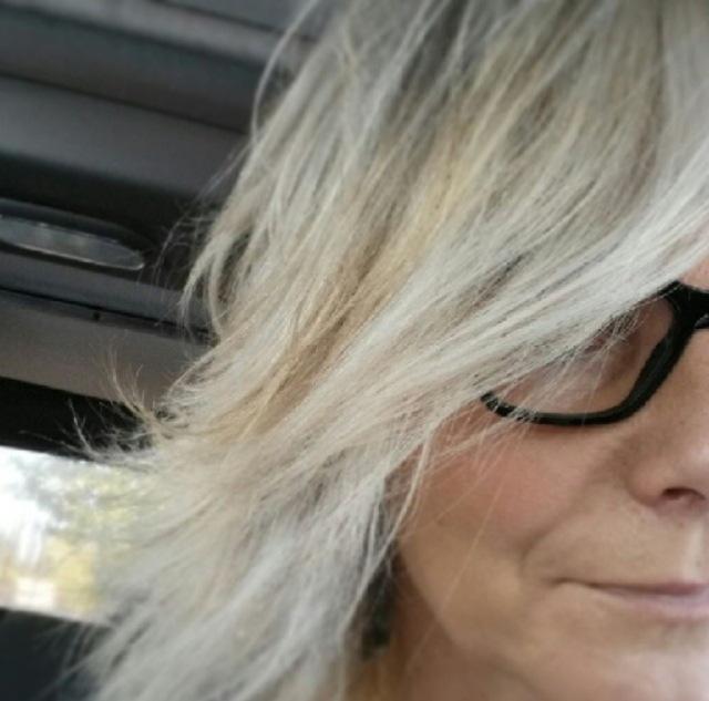 white hair pic